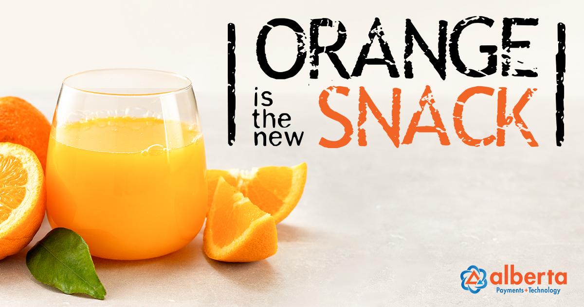 Blog - Orange is the New Snack